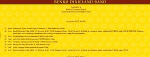 A Benkó Dixieland Band Svájcban turnézik