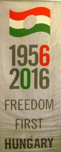 Az 1956-os forradalom emlékére – zum Gedenken an die Revolution 1956