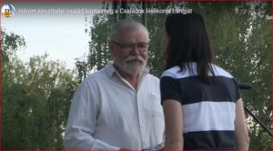 A keszthelyi Oppel család kapta meg a Családok Helikonja Lángját