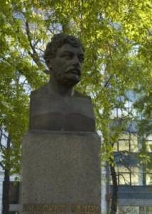 Berzsenyi Dániel bronz mellszobra, Budapest