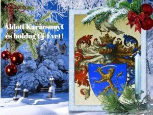 Áldott Karácsonyt és egészséges, örömteli, Boldog Új Évet kívánunk!!